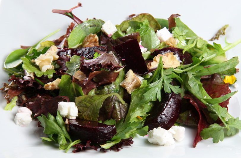 Market Inspirations Beet, Feta, and Walnut Salad - Kristine Kidd ...